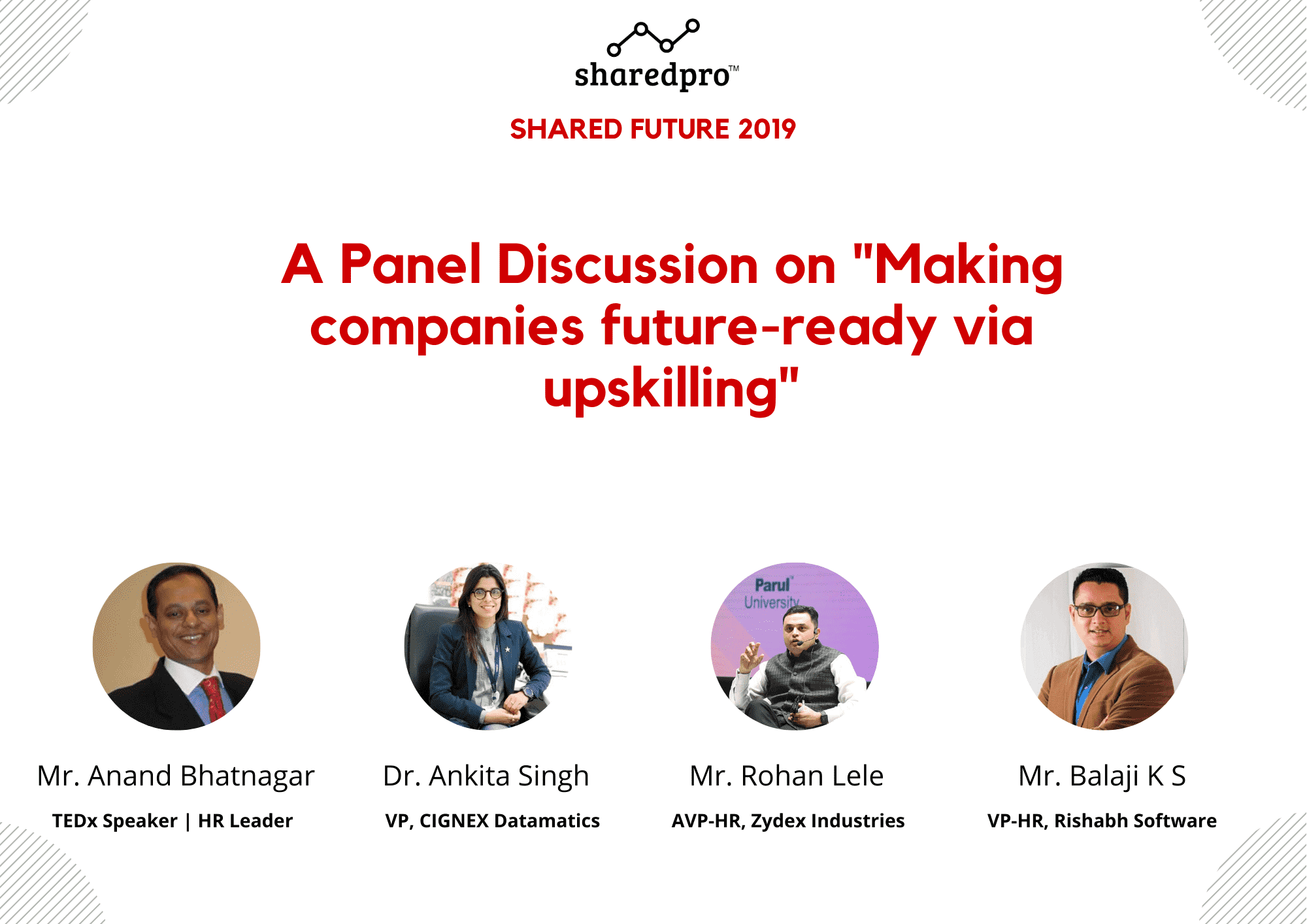 Panel Discussion on Making Companies Future Ready