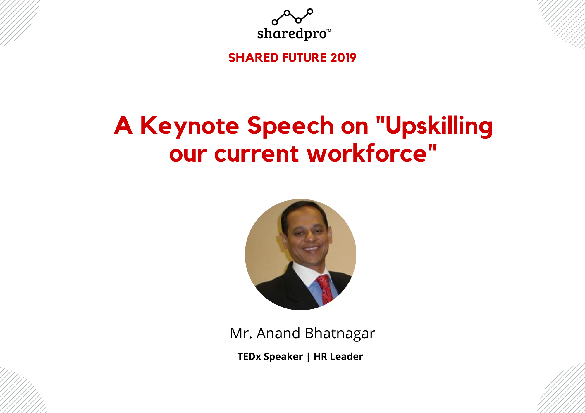 Upskilling our workforce | Anand Bhatnagar